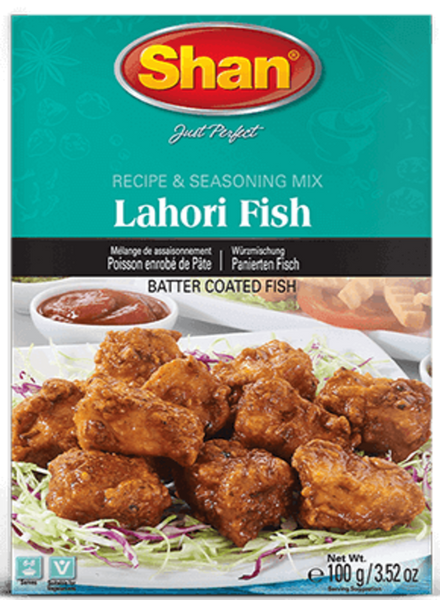 Indian Grocery Store - Shan Lahori Fish Mix - Singal's