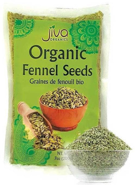 Indian Grocery Store - Jiva Organic Fennel Seeds - Singal's