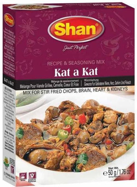 Indian Grocery Store - Shan Kat a Kat Curry Mix - Singal's