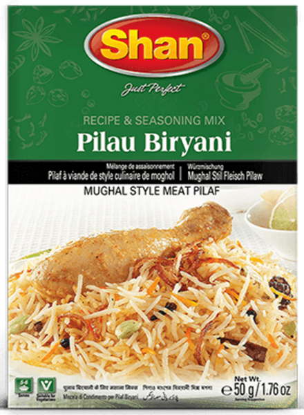 Indian Grocery Store - Shan Pulao Biryani Mix - Singal's