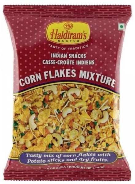 Indian Grocery Store - Haldirams Cornflakes Mixture - Singal's