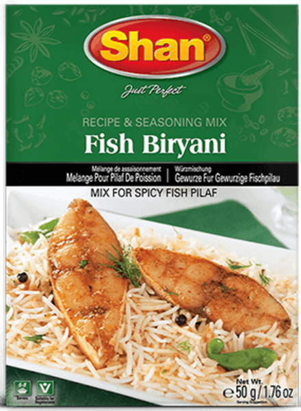 Indian Grocery Store - Shan Fish Biryani - SIngal's
