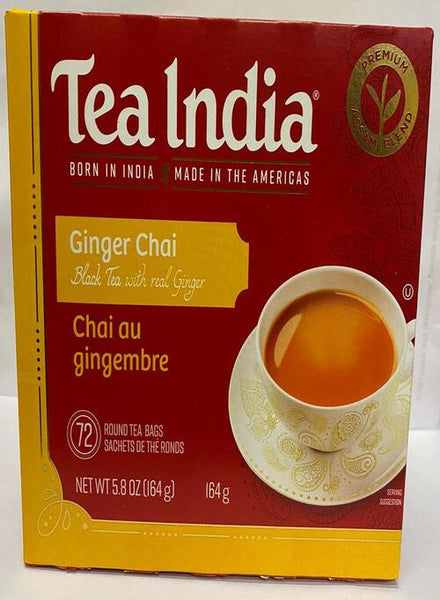 Tea India Ginger Chai - Singal's - Indian Grocery Store