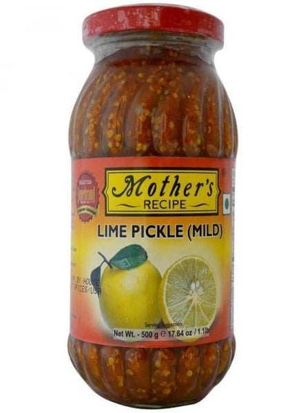 Indian Grocery Store - Mother's Lime Pickle Mild - Singal's
