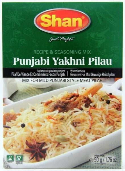 Indian Grocery Store - Shan Punjabi Yakhni Pulao Mix - Singal's