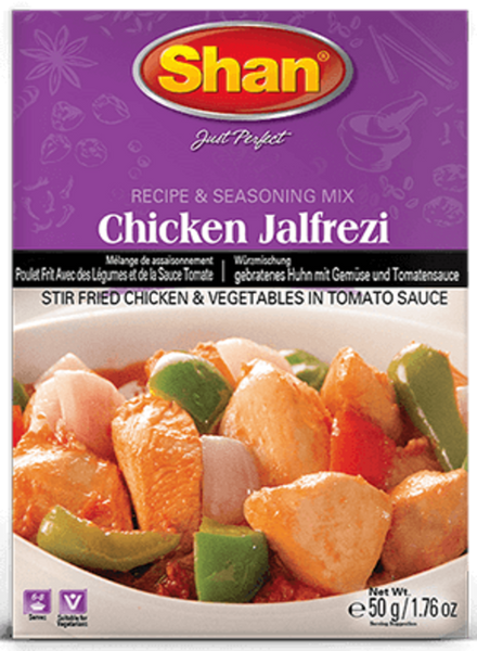 Indian grocery Store - Shan Chicken Jalfrezi - Singal's