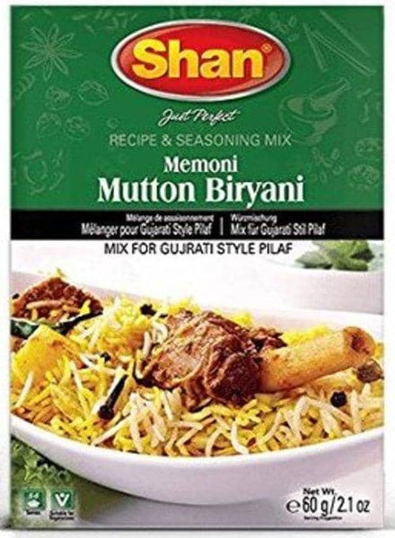 Indian Grocery Store - Shan Memoni Mutton Biryani Mix - Singal's