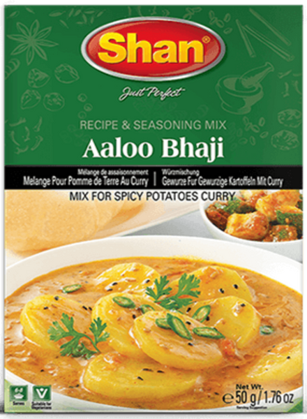 Indian Grocery Store - Shan Aaloo Bhaji Curry Mix - Singal's