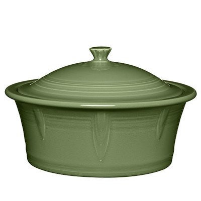 2.81 Qt. Round Covered Casserole Color: Sage