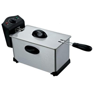 3.0 l 1700-Watt Electric Deep Fryer in Stainless Steel