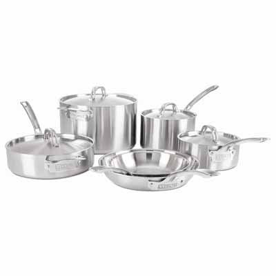 10 Piece Cookware Set - Viking Professional 5-Ply