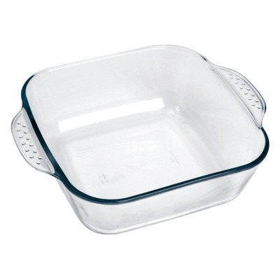 2.6 Qt. Glass Square Casserole