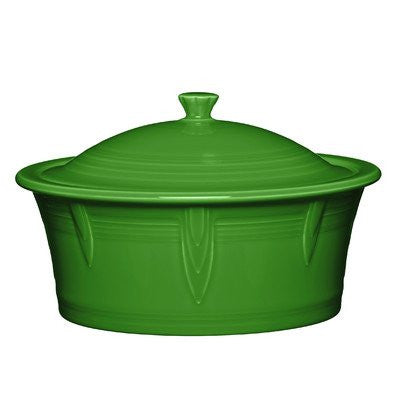 2.81 Qt. Round Covered Casserole Color: Shamrock