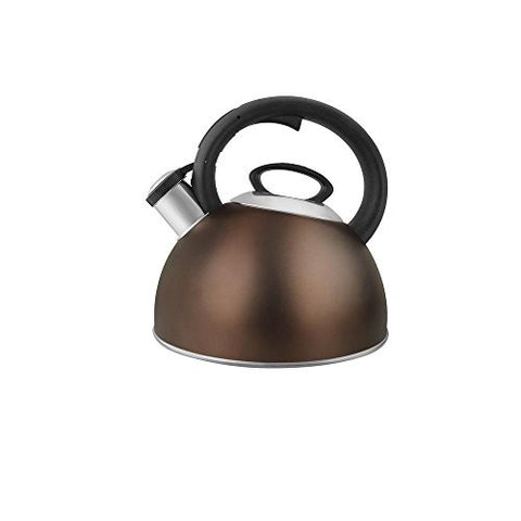 1.5 qt. Tea Kettle in Sphere Bronze
