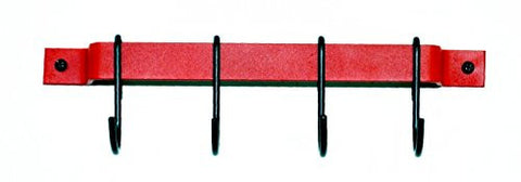 "12"" Red Utensil Rack by Rogar"