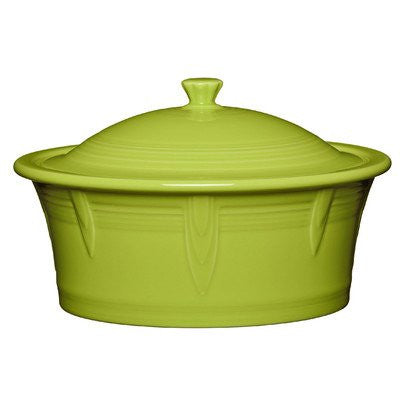 2.81 Qt. Round Covered Casserole Color: Lemongrass