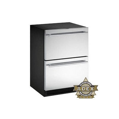 2000 Series 5.3 Cu. Ft. Double Drawer Refrigerator Door Panel: Stainless Steel
