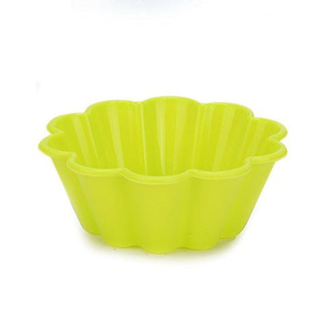 """10pcs Silicone Flower Shape Cake Mold Mould Pudding Muffin Baking"" shopping"
