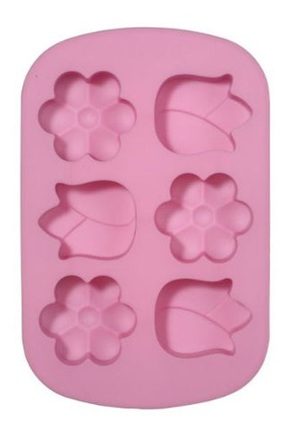 1 X Silicone Baking Molds - Flower Shaped Baking Molds