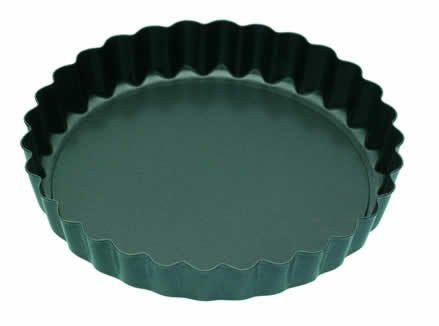 10cm Set Of 4 Non-stick Mini Fluted Flan Tart Tins