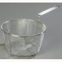 9.75 inch Chrome Plated Six Mesh Fryer Basket -- 12 per case
