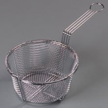 8.75 inch Chrome Plated Six Mesh Fryer Basket -- 12 per case