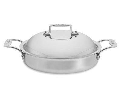 All-Clad d5 Stainless Steel 3-Quart Sauteuse with Lid