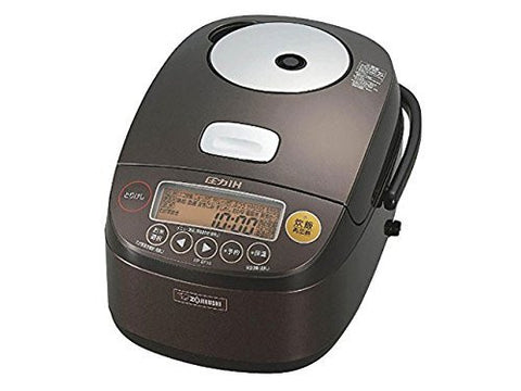 Zojirushi Electric IH Rice Food Cooker Cooked Steamer NP BC10 TA 5 5Cup Japan
