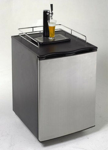 Avanti 1/4 Quarter or 1/2 Half Keg Kegerator Beer Cooler. This Unit Is Built Tough and Will Last for Many Parties. Looks Great in Your Recreation Party Room. Can Be Also Used for Tailgating, Camping, or Any Sporting Event.