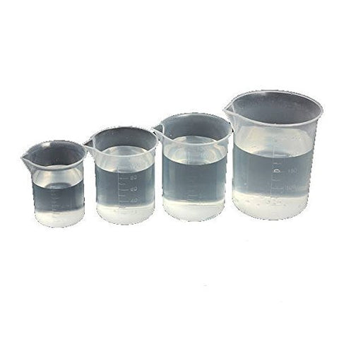 """Laboratory Kitchen Test Plastic Beaker Measuring Cup (250ml)"" shopping"