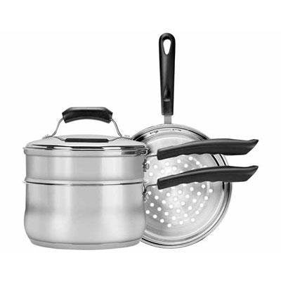 1 - 4 Pc Stainless Steel Cookware