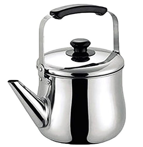 18-8 Stainless Steel Lid Wide Kettle 2.5L(japan import)