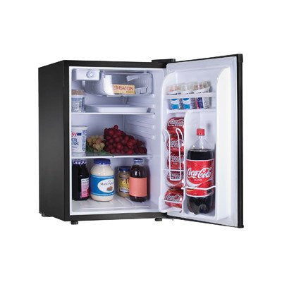 2.56 cu. ft. Compact Refrigerator w/ Reversible Door and Magnetic Seal