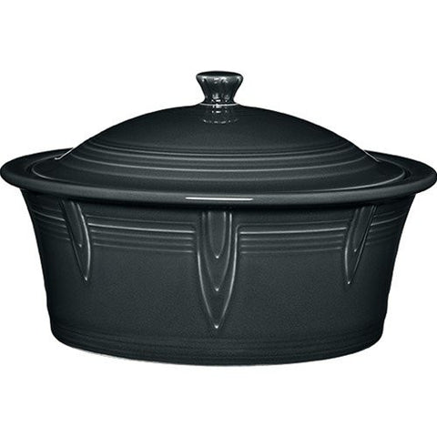 2.81-qt. Round Covered Casserole Color: Slate