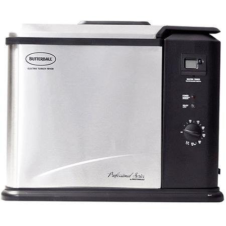 1650W, 20 lbs.Capacity, Digital Electric XL Turkey Fryer, Stainless Steel, Silver