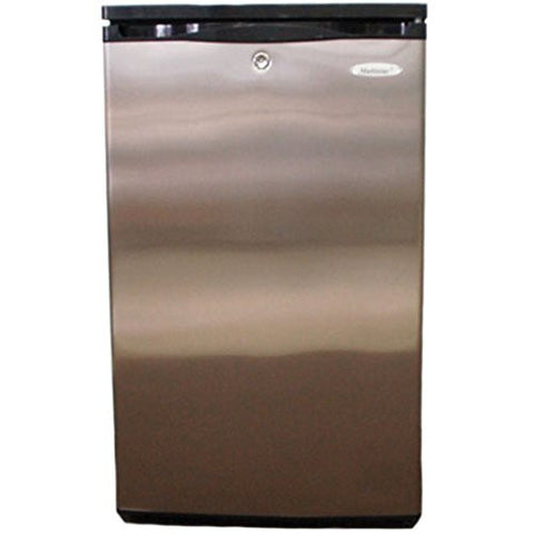 220-240 Volt / 50 Hz, Multistar MS90SS Compact Refrigerator, FOR OVERSEAS USE ONLY, WILL NOT WORK IN THE US