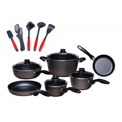 10 Piece Cookware Set with Bonus