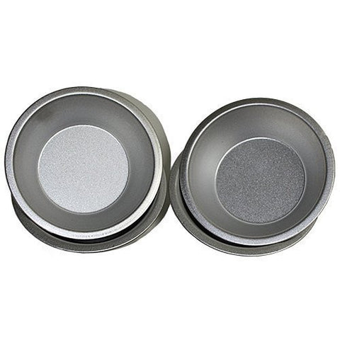 1 X Set of 4 Small Pie Pans - 4.75 Inch