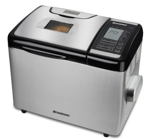 Breadman TR2700 Stainless-Steel Programmable Convection Bread Maker (Certified Refurbished)