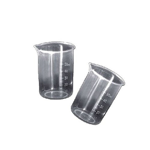 """Translucent 50Ml Plastic Measuring Cup Beaker"" shopping"