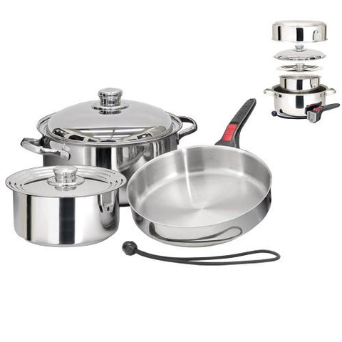 1 - Magma Nestable 7 Piece Induction Cookware