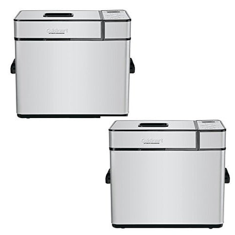 Cuisinart?Stainless Steel Countertop Bread Maker - Model: CBK-100 - 2 Pack Gift Bundle