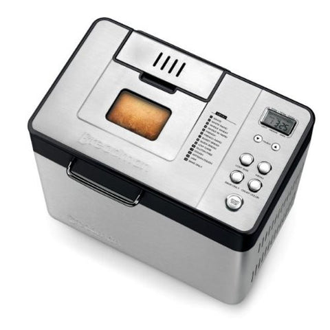 Breadman BK1050S 2 lb Professional Bread Maker, Stainless Steel