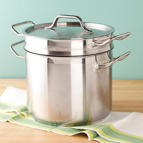 8 Qt. Stainless Steel Clad Double Boiler