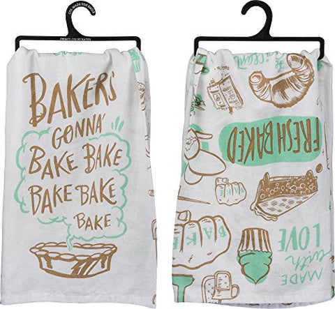 """Bakers Gonna Bake"" Dish Towel - Set Of 3"