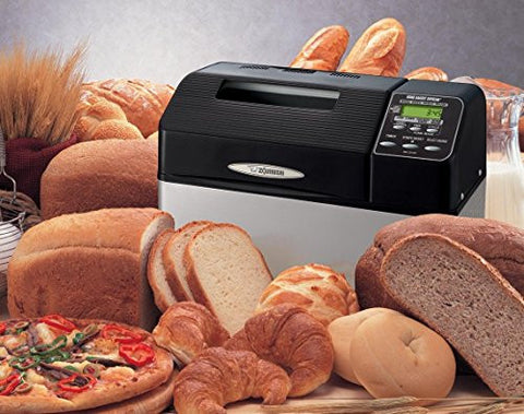 Bread Machine Maker by Zojirushi 2lb Capacity Home Bakery Supreme Variety Sourdough, Whole Wheat