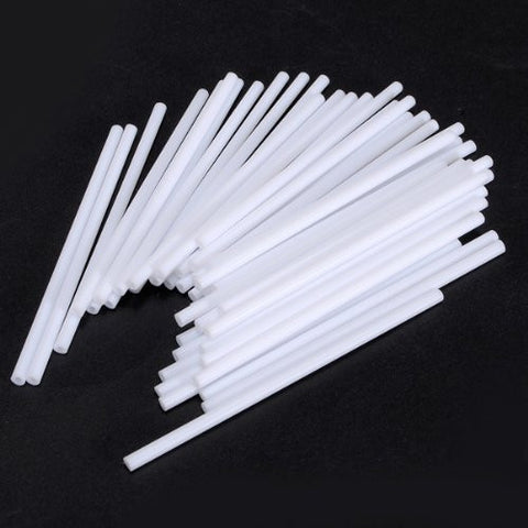 """100pcs Pops Sucker Candy Sticks Lollipop Cake Making Mould"" shopping"