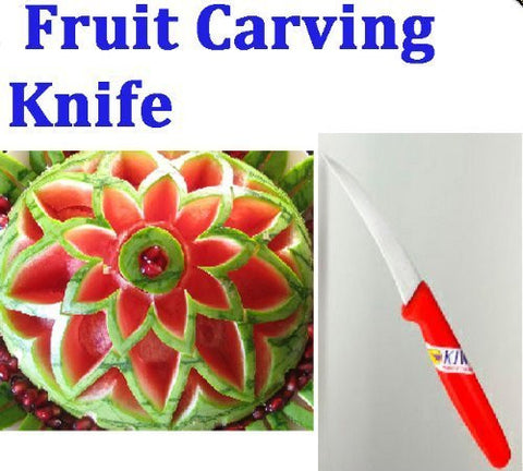 """Click Thai""!! Peeler Fruit and Vegetable Carving Knife Blade Culinary Art Tool"