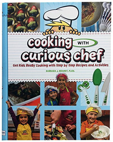 """Cooking with Curious Chef"" Cookbook & Small Knife Bundle"