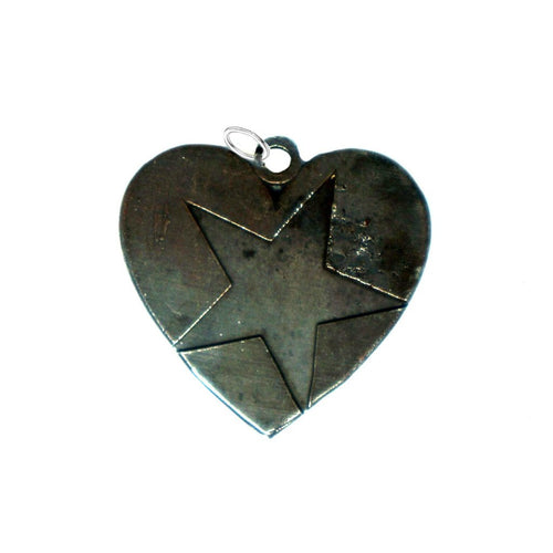 MP4 - Reversible Heart Medium Pendant